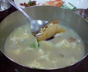 棒タラのスープ